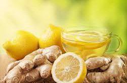 دمنوش زنجبیل و لیمو